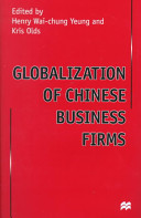 Globalization of Chinese Business Firms Book