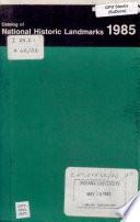 Catalogue of National Historic Landmarks