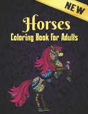 Horses Coloring Book Adults New