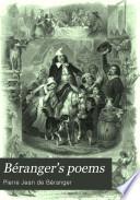 B  ranger s Poems  In the Versions of the Best Translators