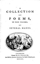 Pdf A Collection of Poems in Four Volumes