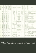 Pdf The London Medical Record