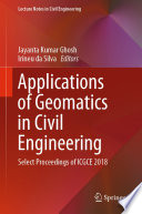 Applications of Geomatics in Civil Engineering