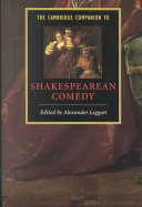 The Cambridge Companion to Shakespearean Comedy