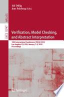 Verification Model Checking And Abstract Interpretation Book PDF