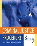 Criminal Justice Procedure [Pdf/ePub] eBook