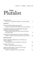 The Pluralist