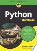 Öffnen Sie das Medium Python für dummies von Hofmeister, Johannes im Bibliothekskatalog