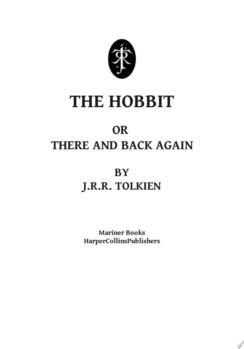 The Hobbit banner backdrop