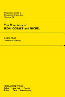 The Chemistry of Iron, Cobalt and Nickel