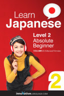 Pdf Learn Japanese - Level 2: Absolute Beginner Telecharger