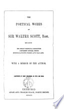 The poetical works of Sir