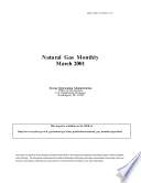Natural Gas Monthly  March 2001