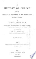 A History of Greece  Greece under Othoman and Venetian domination  A D  1453 1821 Book PDF