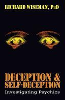 Deception   Self deception