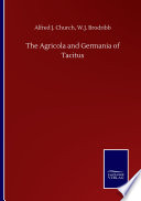 The Agricola And Germania Of Tacitus PDF