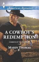 Pdf A Cowboy's Redemption Telecharger