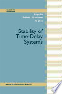 Stability of Time Delay Systems