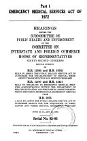 Emergency Medical Services Act of 1972