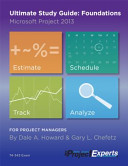 Ultimate Study Guide: Foundations Microsoft Project 2013