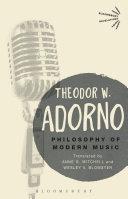 Philosophy of Modern Music
