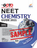 (Free Sample) GO TO Objective NEET 2021 Chemistry Guide 8th Edition
