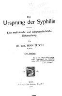 Der Ursprung der Syphilis