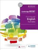 Books - Igcse Eng As 1st Lang 4th Ed | ISBN 9781510421318