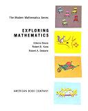 The Modern Mathematics Series Book