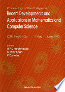 Recent Developments And Applications In Mathematics And Computer Science - Proceedings Of The College