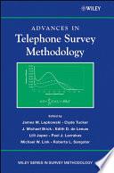 Advances in Telephone Survey Methodology Book