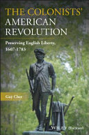 Pdf The Colonists' American Revolution Telecharger