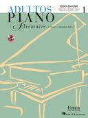Adultos Piano Adventures Libro 1
