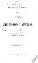 Annual Report of the Illinois State Bee keepers  Association