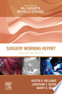 Surgery Morning Report  Beyond the Pearls E Book