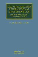 Pdf Lex Petrolea and International Investment Law Telecharger