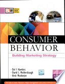 """Consumer Behavior, 11E (Sie) With Cd"" by Hawkins"