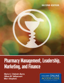 Pharmacy Management  Leadership  Marketing  and Finance