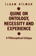 Quine on Ontology, Necessity and Experience