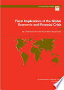 Fiscal Implications Of The Global Economic And Financial Crisis
