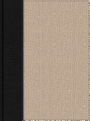 Apologetics Study Bible for Students  Black Tan Cloth  Indexed