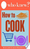 Who Knew How To Cook Book PDF