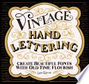 Vintage Hand Lettering