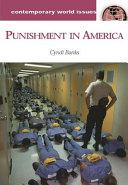 Punishment in America