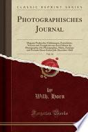 Photographisches Journal, Vol. 14