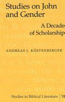 Studies on John and Gender