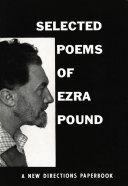 Selected Poems of Ezra Pound
