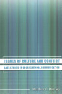 Issues of Culture and Conflict