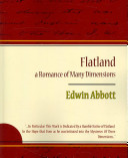 Flatland a Romance of Many Dimensions - Edwin Abbott