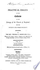 Practical Essays on the Morning and Evening Services of the Church of England